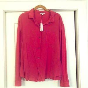 James Perse button-down shirt